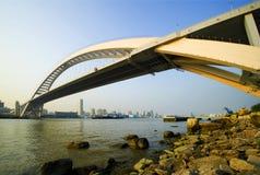Puente de Lupu Imagen de archivo libre de regalías