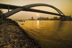 Puente de Lupu Foto de archivo libre de regalías