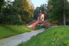 Puente de mármol fotografía de archivo