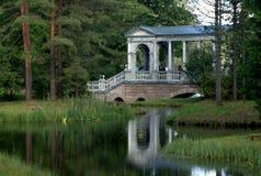 Puente de mármol de Palladiyev imagen de archivo