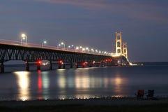 Puente de Mackinac fotos de archivo
