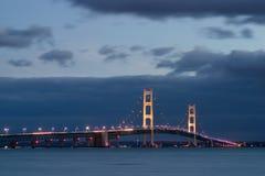 Puente de Mackinaw Foto de archivo