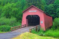 Puente de madera de Chitwood Fotografía de archivo libre de regalías
