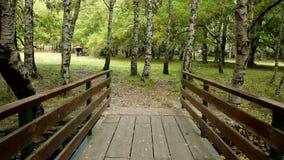 Puente de madera en Covao DA Ametade - Manteigas metrajes