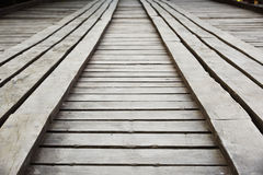 Puente de madera, Tailandia Imagen de archivo libre de regalías