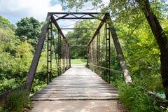 Puente de madera viejo de Jenkins Imágenes de archivo libres de regalías