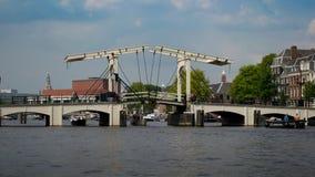 Puente de Magere Brug Foto de archivo
