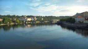 Puente de Manesuv por día almacen de video