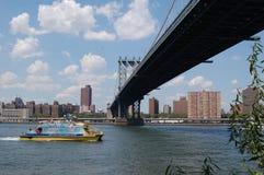 Puente de Manhattan, New York City Imagen de archivo