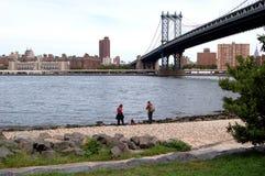 Puente de Manhattan, New York City Imágenes de archivo libres de regalías