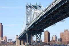 Puente de Manhattan, New York City Fotografía de archivo libre de regalías