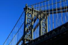 Puente de Manhattan, New York City, los E.E.U.U. Imágenes de archivo libres de regalías