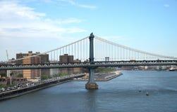 Puente de Manhattan, Nueva York, los E foto de archivo