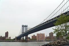 Puente de Manhattan, Nueva York, los E fotografía de archivo libre de regalías
