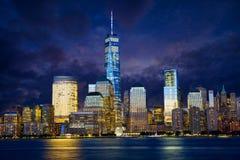 Puente de Manhattan y de Brooklyn Imagen de archivo