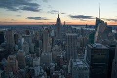 Puente de Manhattan y de Brooklyn Fotografía de archivo libre de regalías