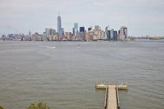 Puente de Manhattan y de Brooklyn Fotografía de archivo