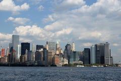 Puente de Manhattan y de Brooklyn Foto de archivo libre de regalías