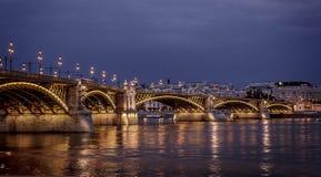 Puente de Margit Fotografía de archivo libre de regalías