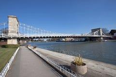 Puente de Marlow, Inglaterra fotografía de archivo
