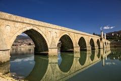 Puente de Mehmed Pasa Sokolovic en Visegrado Fotografía de archivo libre de regalías