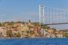 Puente de Mehmet del sultán de Fatih Fotos de archivo