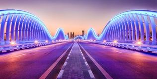 Puente de Meydan Fotografía de archivo libre de regalías