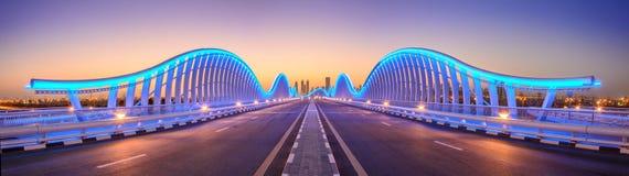 Puente de Meydan Foto de archivo libre de regalías