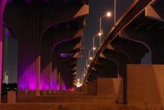 Puente de Miami Imágenes de archivo libres de regalías