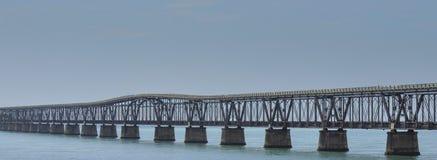 Puente de 7 millas, llaves de la Florida Fotos de archivo libres de regalías