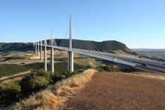 Puente de Millau Fotografía de archivo libre de regalías