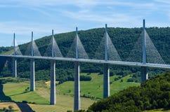 Puente de Millau Fotos de archivo libres de regalías