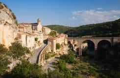 Puente de Minerve Foto de archivo libre de regalías