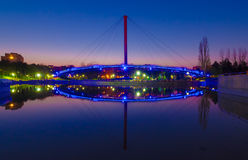 Puente de Moghioros foto de archivo