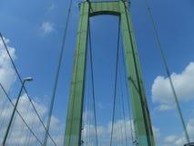 Puente de monumento de Delaware Imagen de archivo