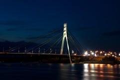 Puente de Moscú en Kiev Fotos de archivo
