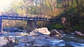 Puente de Mountian Fotografía de archivo libre de regalías