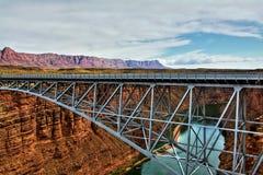 Puente de Navajo fotografía de archivo