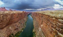 Puente de Navajo en el río Colorado Imagen de archivo