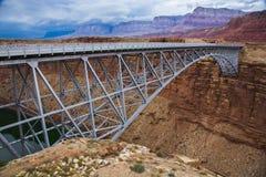 Puente de Navajo en el río Colorado Foto de archivo libre de regalías