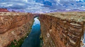 Puente de Navajo en el río Colorado Imagen de archivo libre de regalías