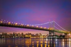 Puente de New York City Imágenes de archivo libres de regalías