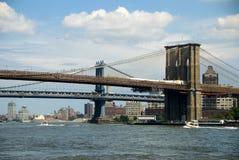 Puente de New York City - de Brooklyn Fotos de archivo