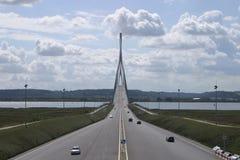 Puente de Normandía Foto de archivo