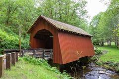 Puente de North Fork Yachats Imágenes de archivo libres de regalías