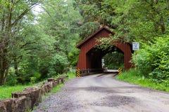 Puente de North Fork Yachats Fotos de archivo libres de regalías