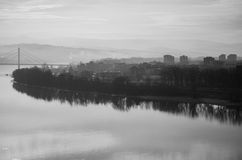 Puente de Novi Sad fotos de archivo
