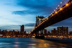 Puente de Nueva York Foto de archivo libre de regalías