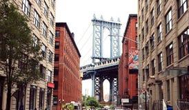 Puente de Nueva York, Manhattan imágenes de archivo libres de regalías