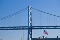 Puente de Oakland Imagen de archivo libre de regalías